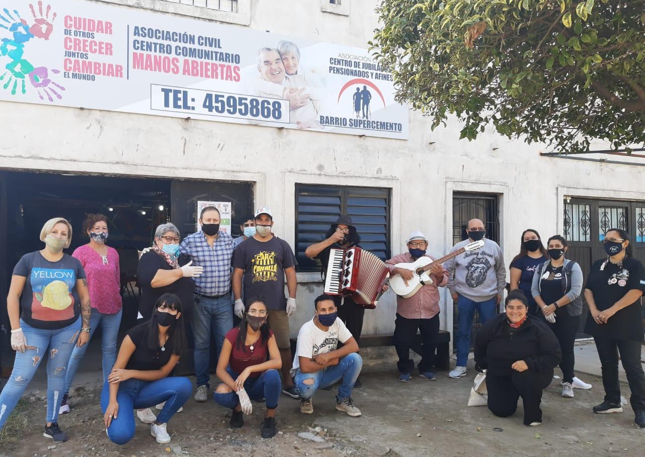 Acciones solidarias con  los más necesitados